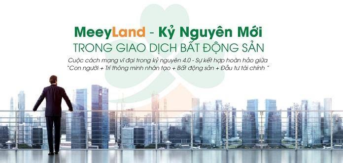 Meeyland - Hệ sinh thái bất động sản công nghệ 4.0