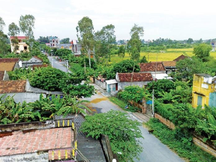 Mật độ xây dựng nhà ở tại nông thôn thường sẽ có quy định đơn giản và mật độ thường cũng thấp.
