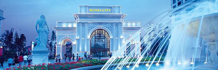 Royal City - khu đô thị hàng đầu tại Việt Nam