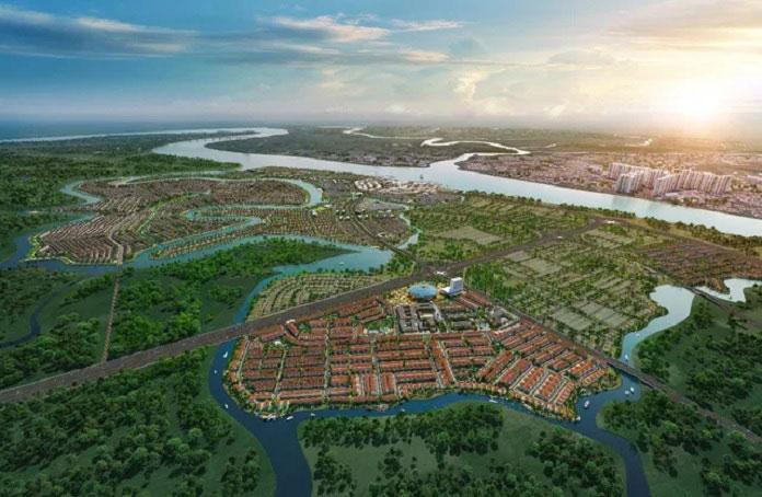 Vị trí dự án khu đô thị