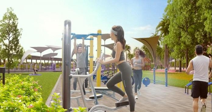 Công viên gym tại Vinhomes smart city