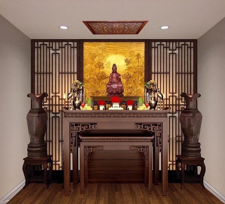 Đặt phòng thờ tại những hướng tốt sẽ giúp gia đình được yên ấm thuận hòa, an khang thịnh vượng như ý.