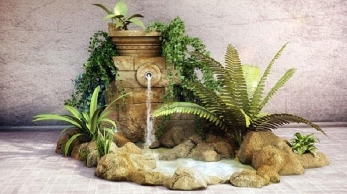 Hòn non bộ thác nước là kiểu hòn non bộ rất được yêu thích vì tiếng nước chảy róc rách tạo cảm giác tự nhiên, gần gũi, thư thái