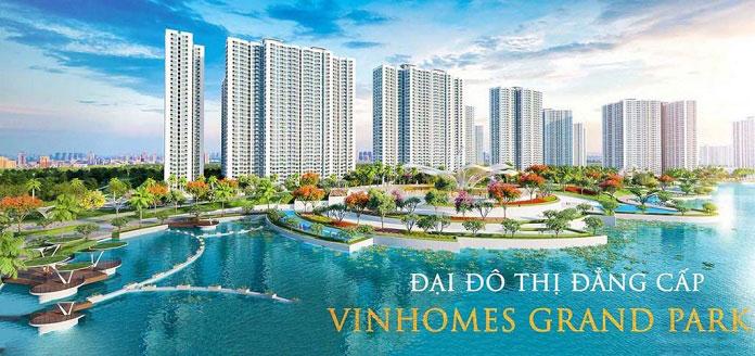 Mặt bằng căn hộ Vinhomes Grand Park
