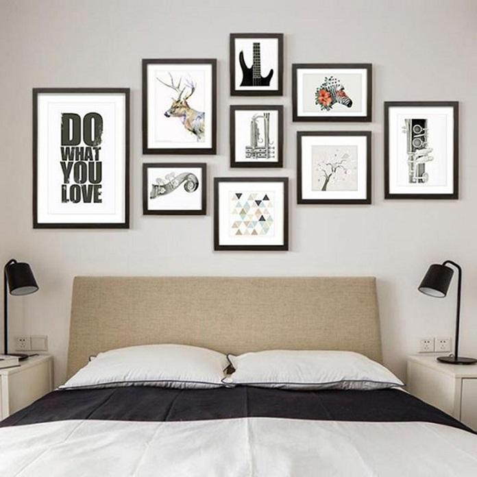Những loại tranh nên treo trong phòng ngủ
