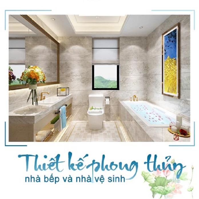 Thiết kế bếp và nhà vệ sinh