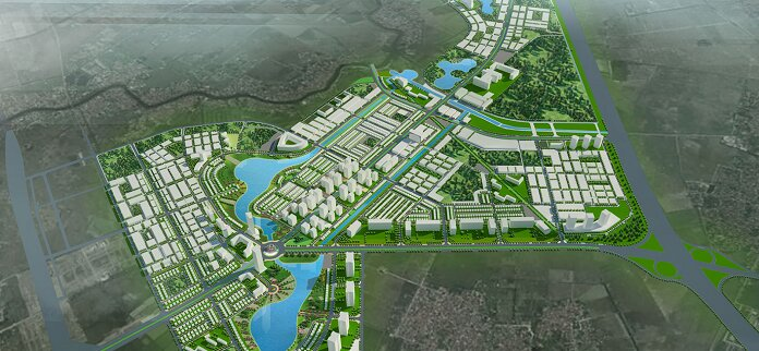 Tiến độ xây dựng khu đô thị Thanh Hà