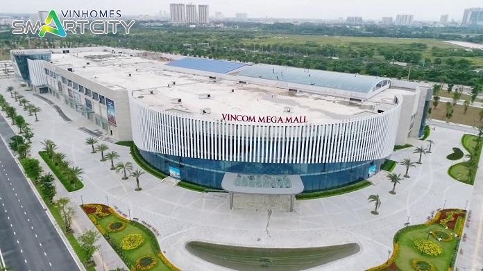 Trung tâm vincom mega mall hiện đại