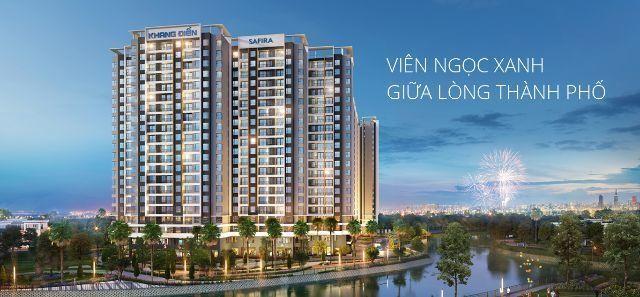 Dự án chung cư Safira được đánh giá rất cao